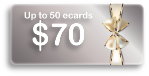 Up to 50 ecards $70