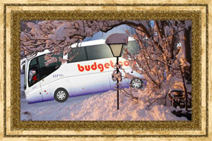 Click to preview the Christmas Lamp with Your Own Vehicle ecard