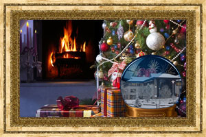 Click to preview the Christmas SnowGlobe Personalised ecard