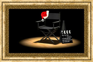 Click to preview the Santa's Video Shoot ecard
