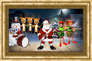 Click to preview the Santa Rocks ecard
