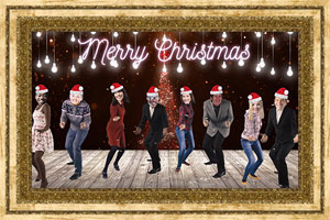 Click to preview the Christmas Dance (Your Faces) ecard