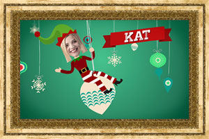 Click to preview the Santa's Little Helpers (Your Faces) ecard