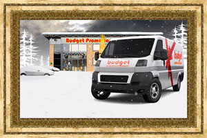Click to preview the Driving Home for Christmas (Your Van and/or Building) ecard