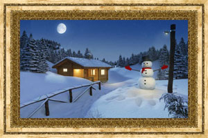 Click to preview the Christmas Snowman ecard