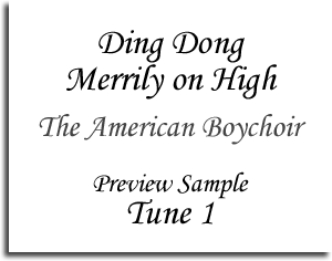 Ding Dong Merrily on High - The American Boychoir