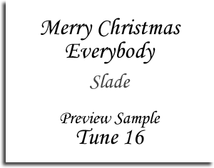 Merry Christmas Everybody - Slade