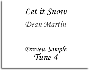 Let it Snow - Dean Martin