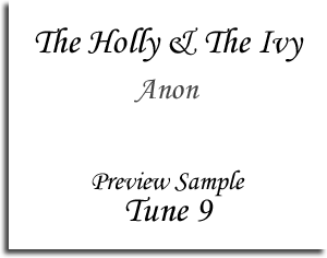 The Holly & The Ivy - Anon